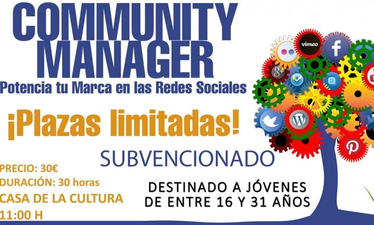 Curso de 'community manager' para jóvenes de entre 16 y 31 años