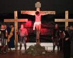 Emotiva representación de la 'Pasión Nazarena'