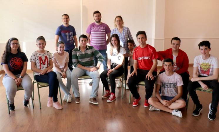 Taller de iniciación al teatro para alumnos del IES María Cabeza Arellano Martínez