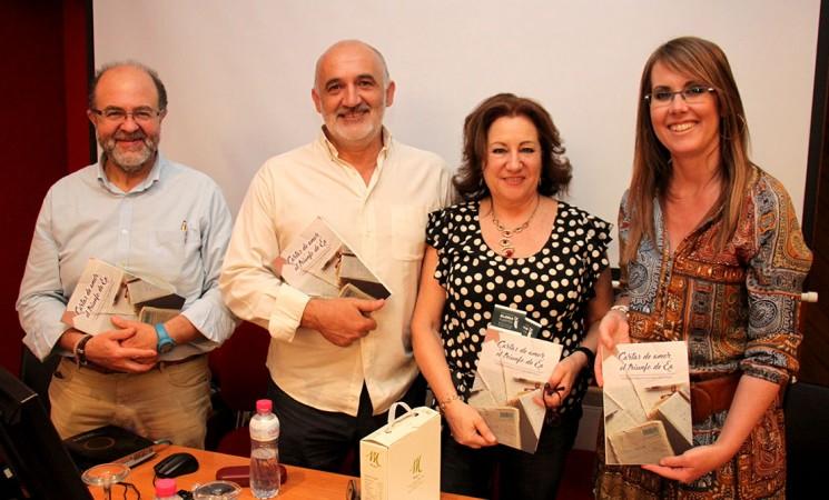 Rafael Latorre y Nani López Villalta presentan 'Cartas de amor, el triunfo de Ea' en Mengíbar
