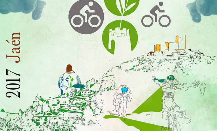 Paso de la II Ruta Ciclista de los Castillos y las Batallas por Mengíbar