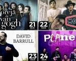La Oreja de Van Gogh, Morat, David Barrull y Planeta 80, conciertos de la Feria de Mengíbar 2017