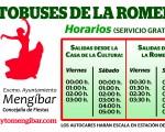 Autobuses gratuitos desde el casco urbano a la Romería de La Malena