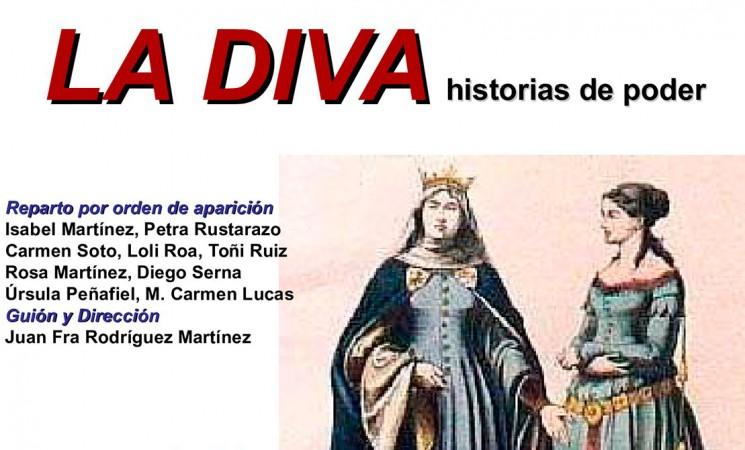 'La diva. Historias de poder', teatro en el Auditorio el sábado 3 de junio