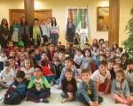 Estudiantes del José Plata conocen el Edificio de Usos Múltiples de Mengíbar