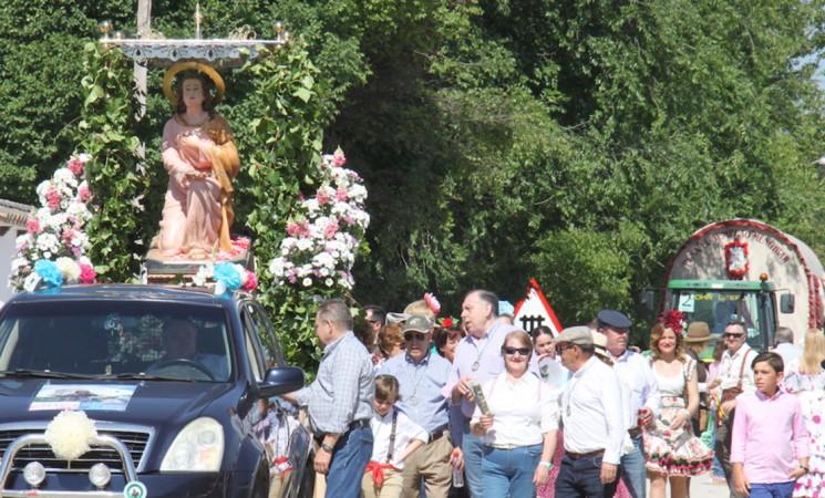 Alegría y devoción en la Romería de La Malena
