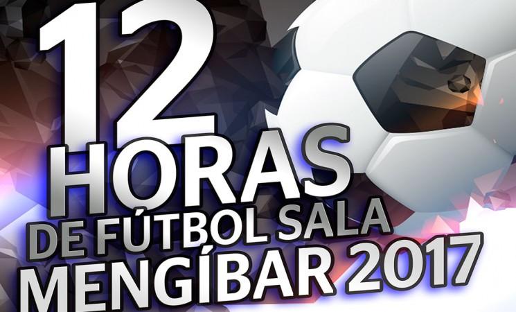 Abiertas las inscripciones para las 12 Horas de Fútbol Sala de Mengíbar