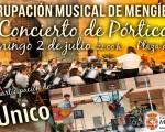Concierto especial del Pórtico de Feria, este domingo 2 de julio