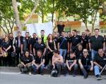 Más de 500 participantes en el Día de la Moto en Mengíbar