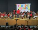Concierto de fin de curso de la escuela de música de la Agrupación Musical de Mengíbar