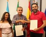 El Ayuntamiento de Mengíbar renueva su apoyo al Atlético Mengíbar