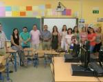 El Ayuntamiento de Mengíbar colabora con el AMPA del Santa María Magdalena para renovar el aula de informática