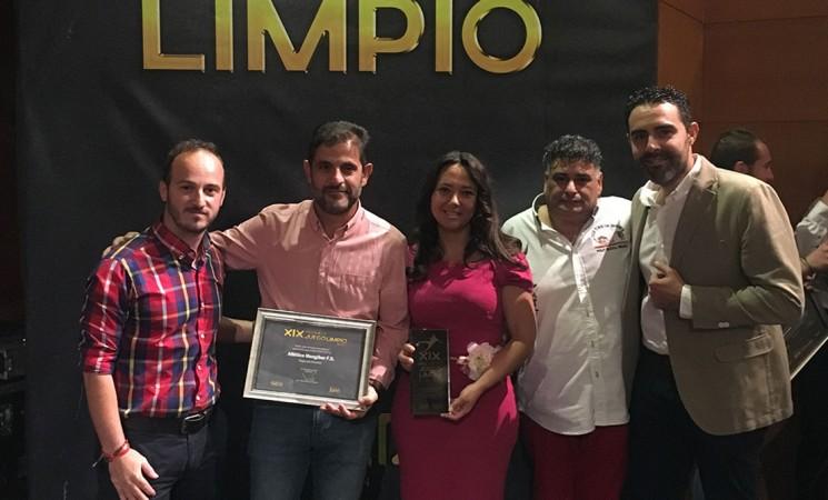 El Atlético Mengíbar, premio especial al juego limpio