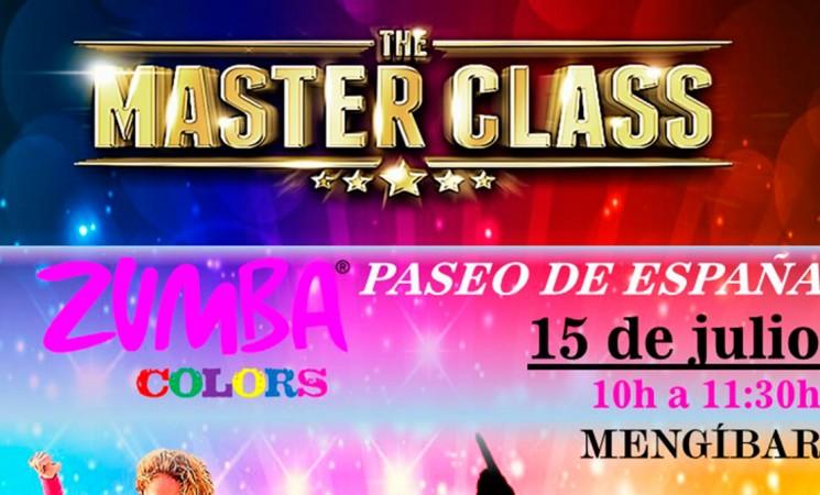 Zumba Colors Mengíbar 2017, este sábado, en el Paseo de España