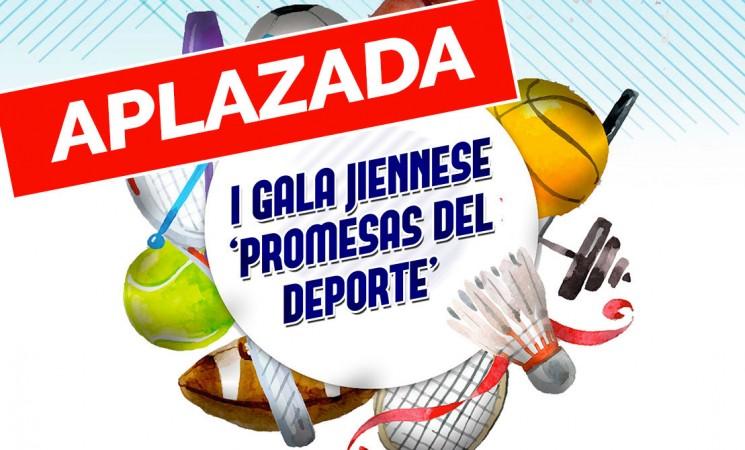 Aplazamiento de la Gala Jiennense Promesas del Deporte