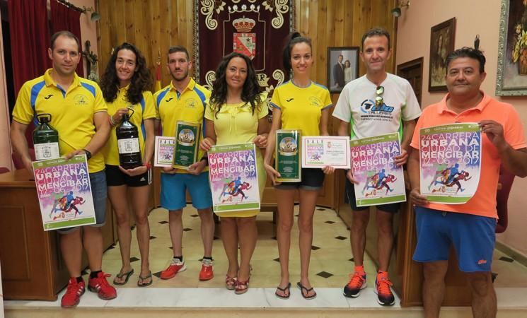 Aceite Oleo Ossigi y Oro de Maquiz para los premiados de la Urbana de Mengíbar