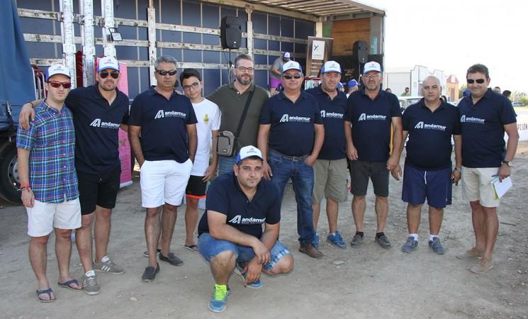 Yincana y homenaje a jubilados en la VI Concentración de Camiones Ciudad de Mengíbar