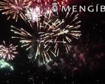 Espectáculo de fuegos artificiales para abrir la Feria de La Malena de Mengíbar 2017 (vídeo)