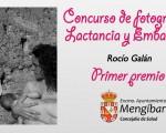 Rocío Galán se lleva el primer premio del Concurso Fotográfico de Lactancia y Embarazo de Mengíbar