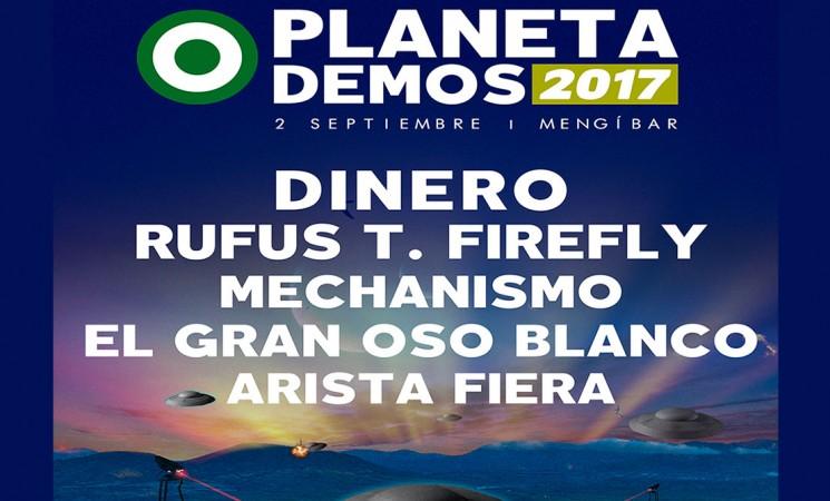 Todo preparado para el Festival Planeta Demos Mengíbar 2017