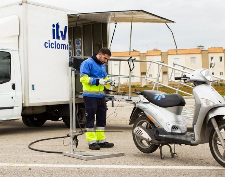 ITV móvil para ciclomotores en Mengíbar el próximo 15 de diciembre de 2020