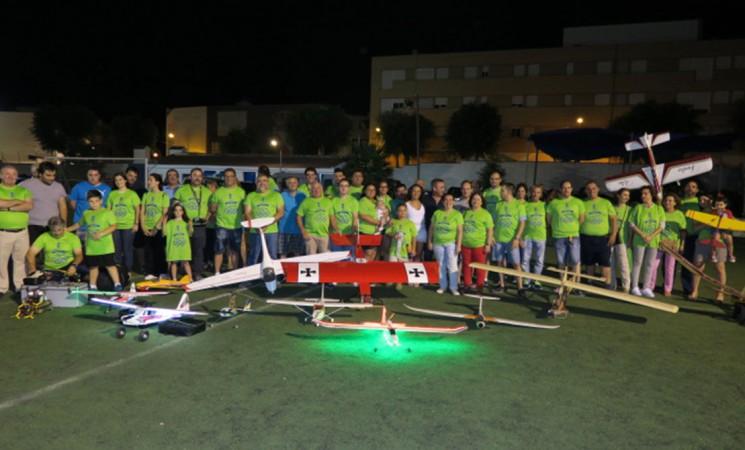 Exhibición de Aeromodelismo en el Estadio Ramón Díaz López