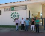 El Ayuntamiento de Mengíbar reforzará la protección de un muro del Colegio José Plata