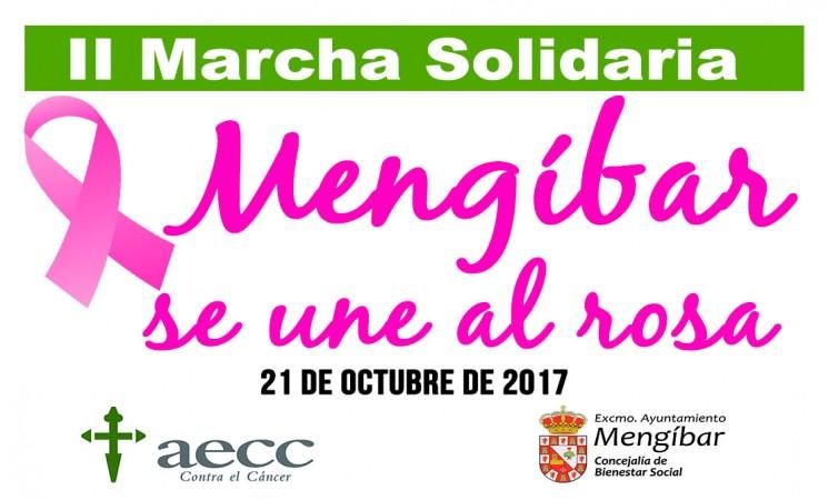La II Marcha Solidaria 'Mengíbar se une al rosa' será el sábado 21 de octubre