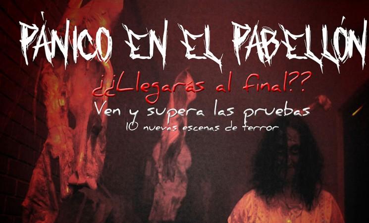 El nuevo Pasaje del Terror 'Pánico en el pabellón' será los días 27 y 28 de octubre