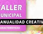 Cartel del Taller Municipal de Manualidad Creativa de Mengíbar