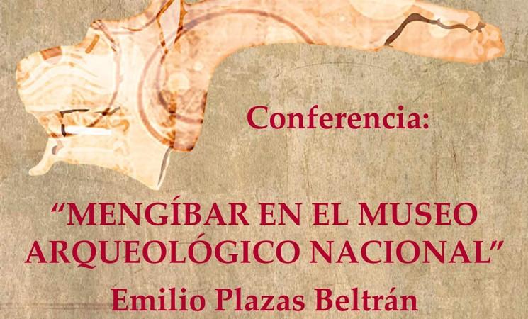 Conferencia de Emilio Plazas sobre 'Mengíbar en el Museo Arqueológico Nacional', el lunes 20 de noviembre