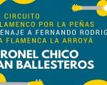 El circuito 'El flamenco por las peñas' llega a La Arroyá el viernes 10 de noviembre