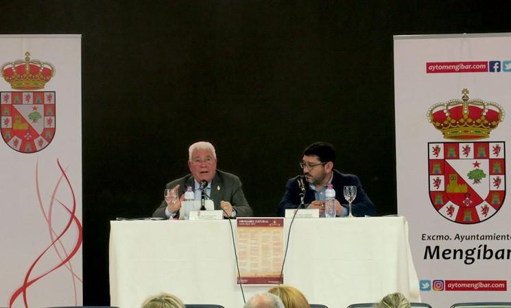Vídeo de la conferencia de Sebastián Barahona Vallecillo sobre el origen del topónimo 'Mengíbar'