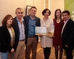 La empresa mengibareña Innova Jamón, Premio Experiencia Empresarial de la Diputación de Jaén