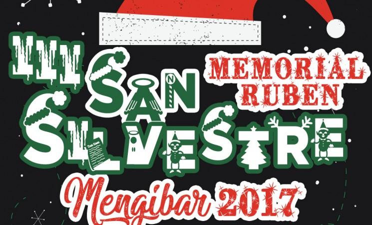 La III San Silvestre Mengibareña-Memorial Rubén será el 29 de diciembre