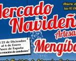 Mercadillo navideño artesanal, en el Paseo de España de Mengíbar, desde el día 22 de diciembre
