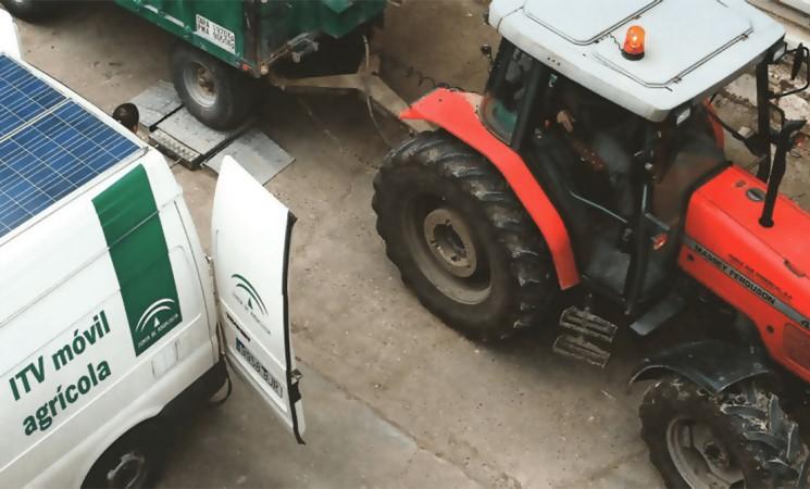 ITV móvil para vehículos agrícolas en Mengíbar el martes 4 de diciembre de 2018