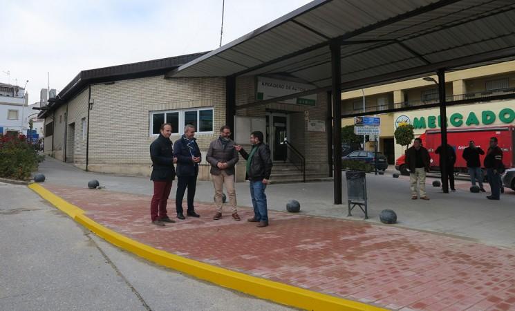La Estación de Autobuses de Mengíbar mejora en accesibilidad, ahorro energético e imagen