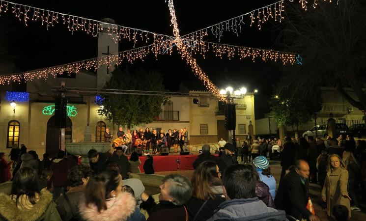 Mágica noche de villancicos como prólogo de la Navidad mengibareña