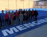 Mengíbar inaugura su nueva Pista Municipal de Tenis