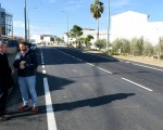 Obras de mejora en la carretera de Mengíbar-Villargordo-Torrequebradilla