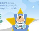 Campaña especial sobre cinturón de seguridad y sistemas de retención infantil en Mengíbar