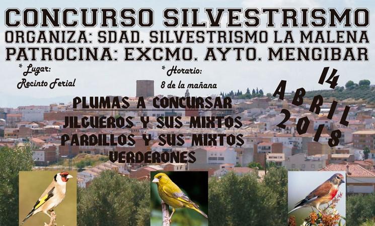 Concurso de silvestrismo en Mengíbar el próximo 14 de abril en el Recinto Ferial