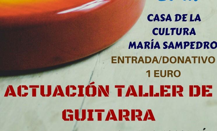 Actuación del Taller de Guitarra de Mengíbar, el próximo 20 de abril