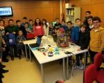 Taller de robótica e impresión 3D en el Guadalinfo de Mengíbar