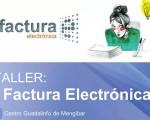 Taller sobre factura electrónica en el Centro Guadalinfo de Mengíbar