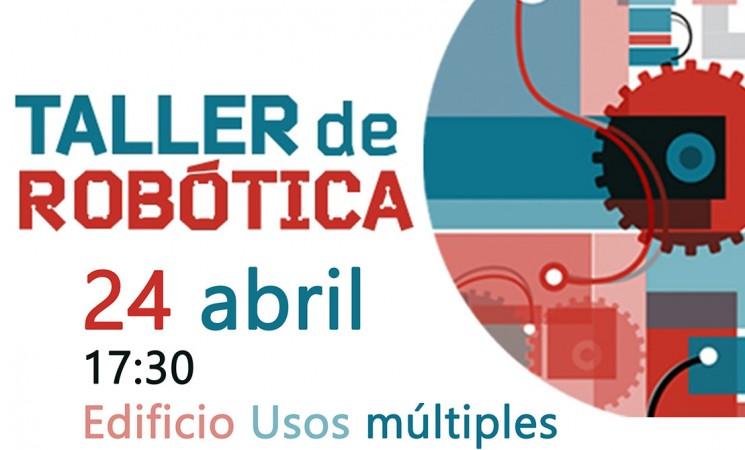 Taller de robótica en el Centro Guadalinfo de Mengíbar, el próximo martes 24 de abril