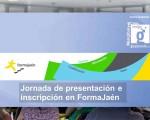 Sesión informativa sobre los cursos de FormaJaén en el Centro Guadalinfo de Mengíbar