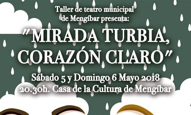 Actuación del Taller Municipal de Teatro de Mengíbar los días 5 y 6 de mayo en la Casa de la Cultura