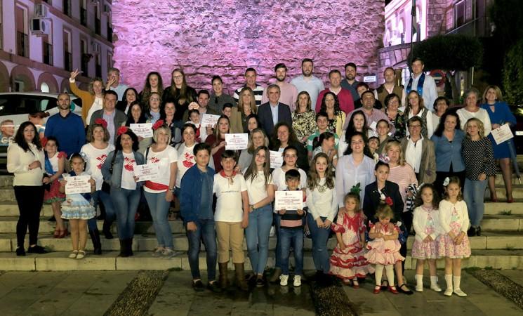 La Cofradía del Señor de las Lluvias se lleva el primer premio del Concurso de las Cruces de Mayo de Mengíbar